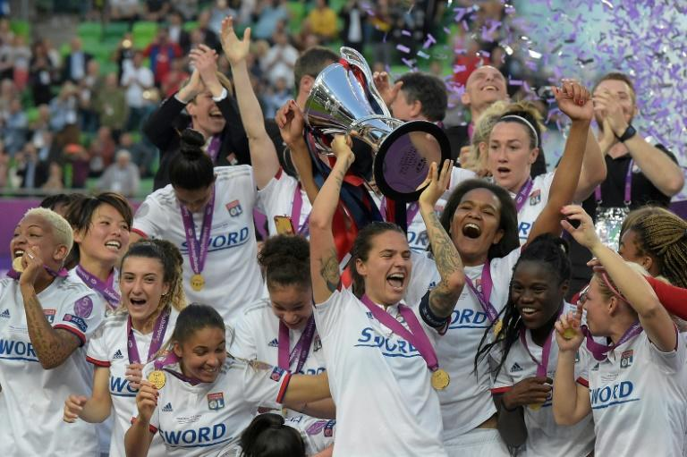 Lyon have won the women's Champions League for four straight seasons