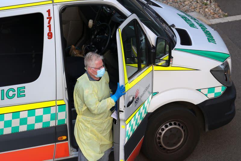 Zona merah COVID-19 Australia memperkirakan kurang dari 100 kasus per hari pekan depan