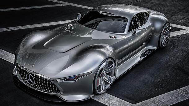 Mercedes-Benz AMG Vision Gran Turismo brings video-game design to reality