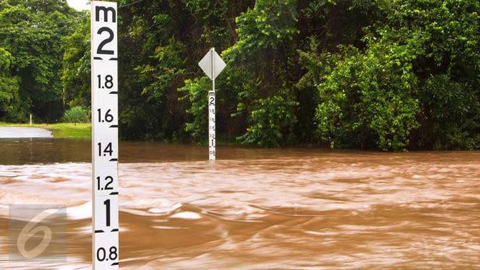 Ratusan Rumah di Kampung Melayu Diterjang Banjir Kiriman