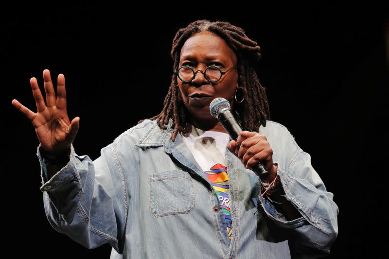 Whoopi Goldberg teams with Extinction Rebellion for climate change movie