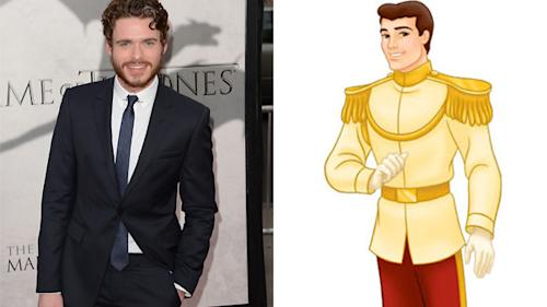 'Game of Thrones' Star Richard Madden Goes From Would-be King to Prince Charming