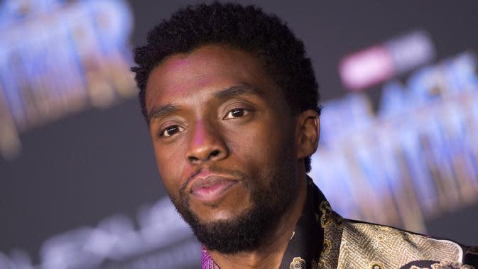 Chadwick Boseman. (VALERIE MACON / AFP)