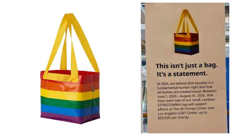 The woman said she was committed to 'fighting LGBT to the end.' — Screengrab from Ikea website and Twitter/azhari_ulya