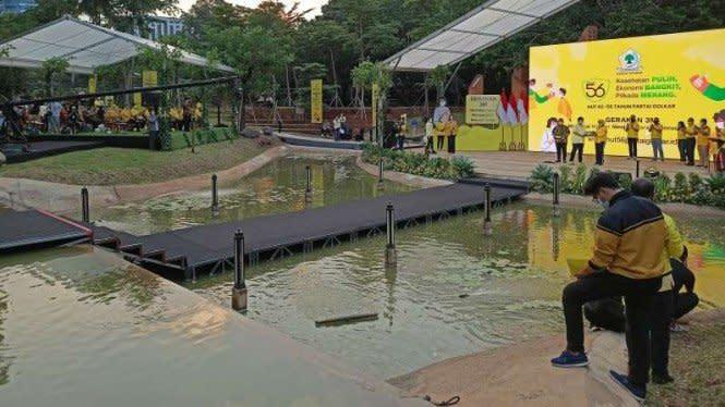 Golkar Gelar Peringatan HUT ke-56 di Gelora Bung Karno