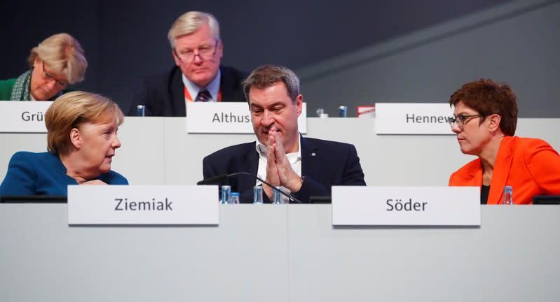 CDU party congress in Leipzig