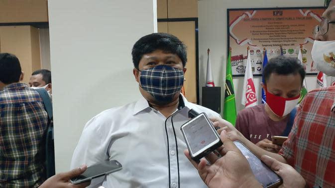 Tes Swab Ulang, Komisioner KPU Kota Tangsel Negatif Covid-19