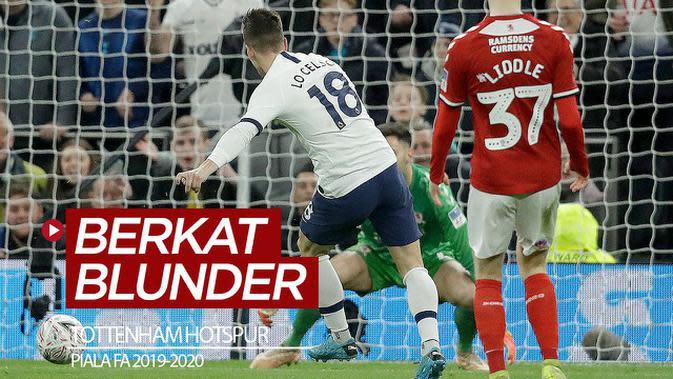 VIDEO: Tottenham Hotspur Menang di Piala FA Berkat Blunder Pemain Boro