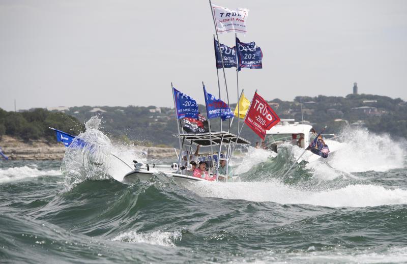 Trump Boat Rally Boats Sink