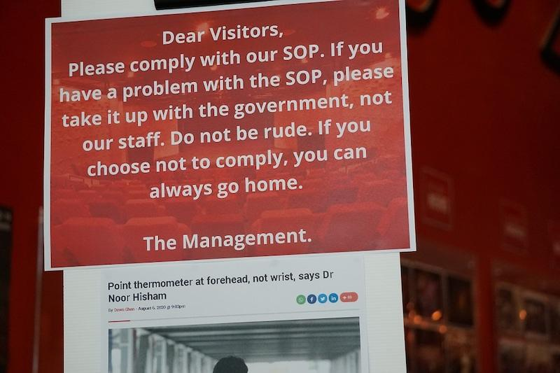 The Penang Performing Arts Centre took to Facebook to detail the hostility, including the use of the F-word, from customers. — Picture courtesy of Penangpac