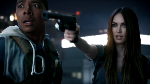 Megan Fox Brings Woman's Touch to 'Call of Duty' Video Game Trailer