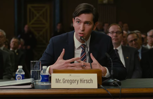 'Succession' Star Nicholas Braun on Why Shooting Greg's Congressional Testimony Was His 'Favorite Day of the Season'