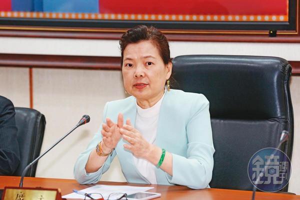 經濟部長王美花表示,經濟部有權要求大同重選董事。