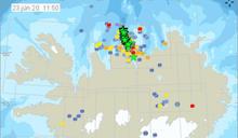 72小時出現3000次地震 冰島格理姆火山恐噴發