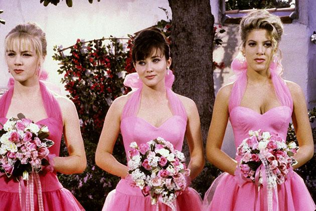 Brenda vs. Kelly: Luke Perry chooses between the 'Beverly Hills, 90210' babes