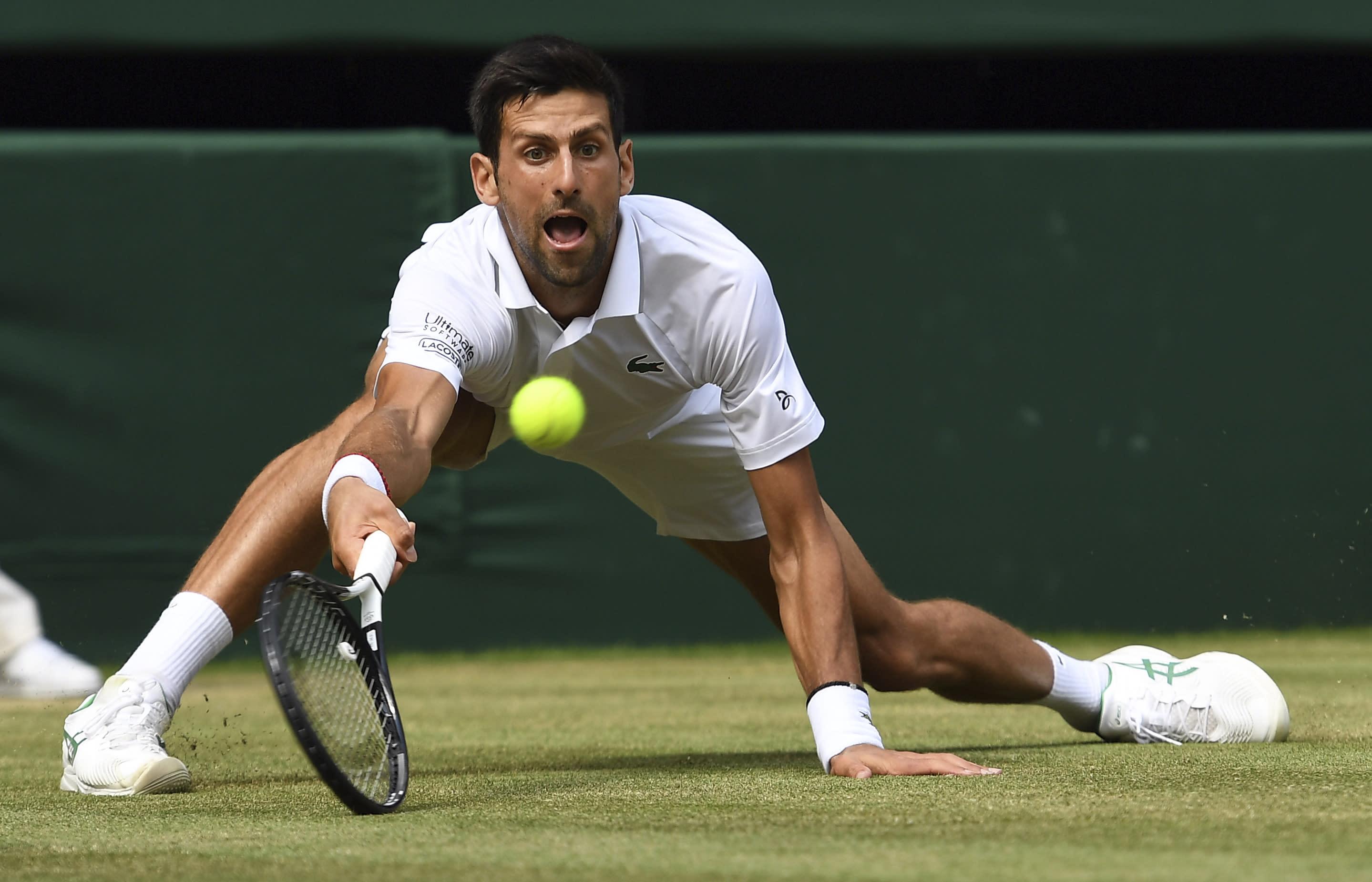 【運動專欄/費恩斯】Djokovic重回溫布頓決賽 4強小遇亂流不應該