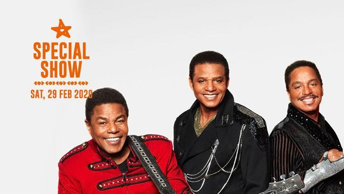 The Jacksons di Java Jazz Festival 2020