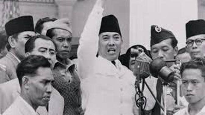 Ilustrasi Ir Soekarno Pidato KAA 1955