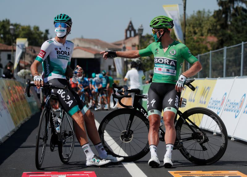 All Tour de France participants await COVID-19 test results on Tuesday
