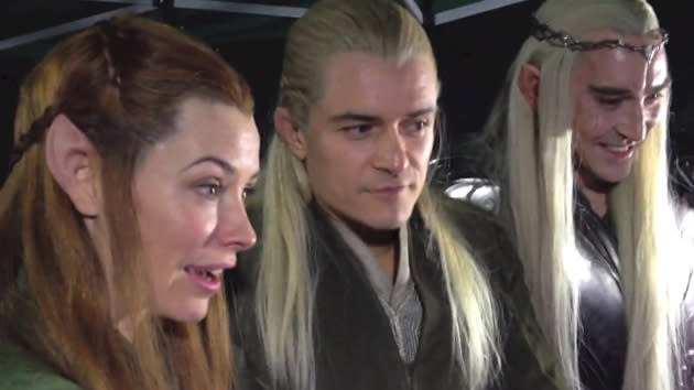 Middle-Earth Mirth: 'Hobbit' Stars Crack up at Fan Reactions to Trailer