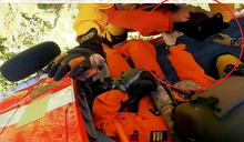 林務局人員山區遭虎頭蜂螫 一度昏迷吊掛醫治