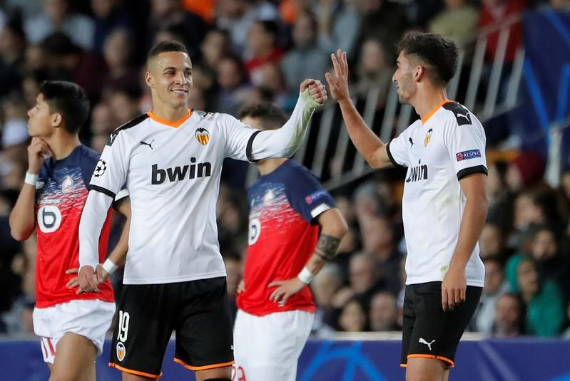 Champions League - Group H - Valencia v Lille