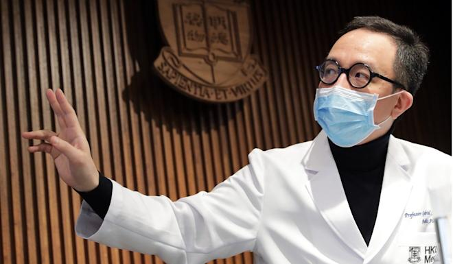 Gabriel Leung urged the government to take more steps. Photo: Edmond So
