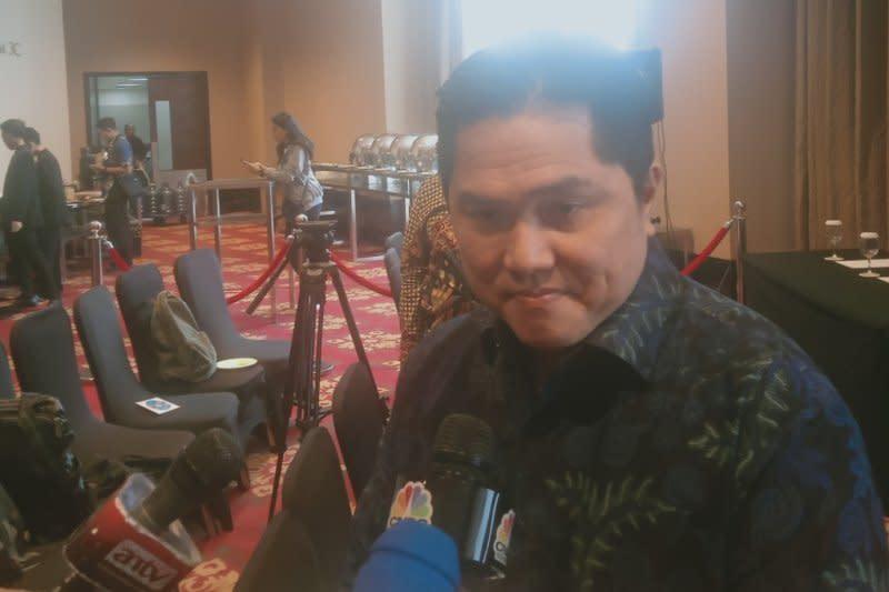 Menteri BUMN minta karyawan Garuda mundur jika bersalah