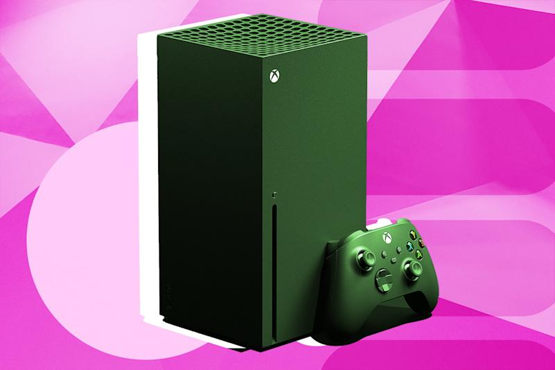 Xbox Series X Stylized Graphic