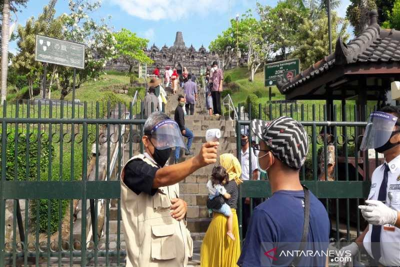 Ganjar tata pasar tradisional perkuat daya tarik Candi Borobudur