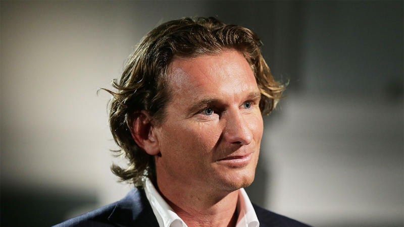 James Hird has been working as a footballer broker. (Getty Images)