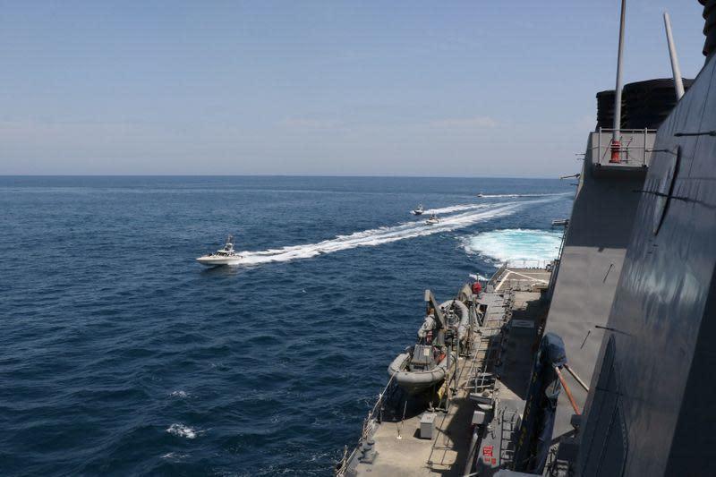 Ekslusif: AS berikan peringatan terselubung untuk Iran untuk menjauh dari kapal perangnya