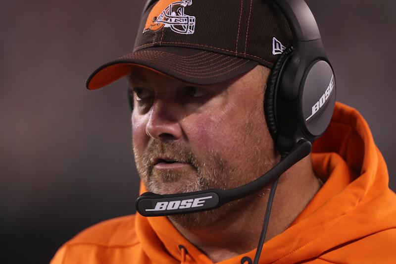 This is not the start Browns fans had in mind for the Freddie Kitchens era. (Getty)