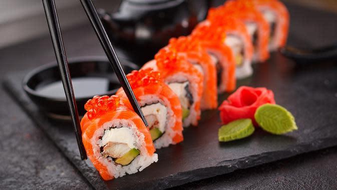 Ilustrasi sushi (dok. Pixabay.com/Putu Elmira)