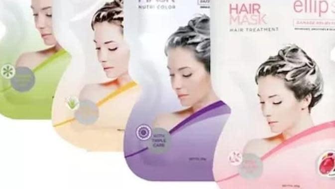 ilustrasi masker rambut untuk rambut yang di bleaching/kino.co.id