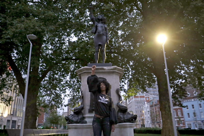 Britain Protests Slavery