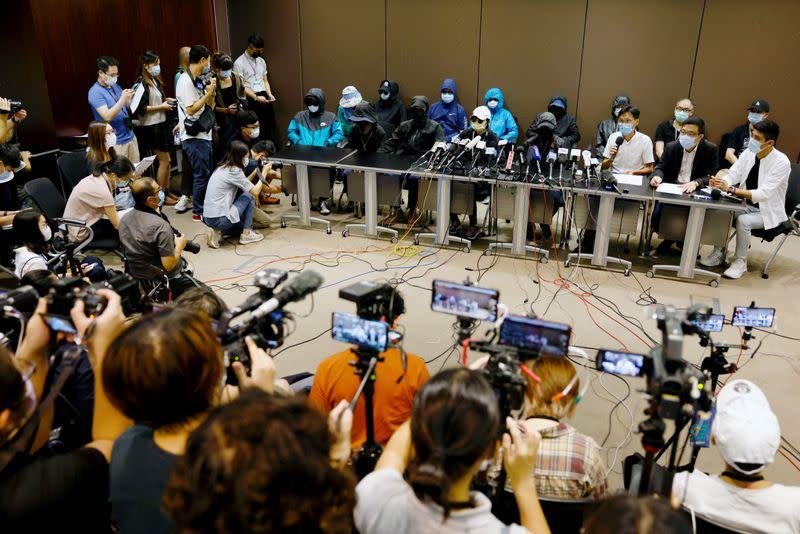 Families of captured Hong Kong activists demand their return