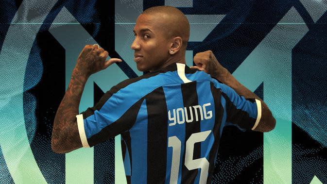 Conte Ambisius, Ashley Young Makin Cocok dengan Inter Milan