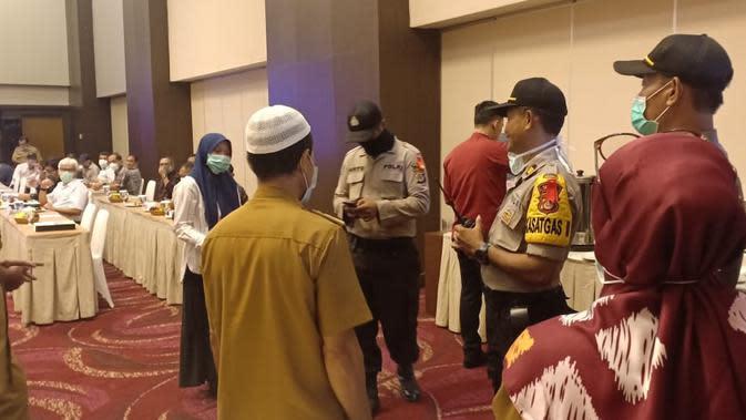 Bandel, Polisi Bubarkan Seminar yang Digelar Badan Lingkungan Hidup Sulteng