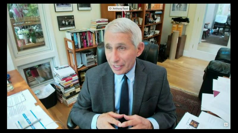 Told he's not the 'end-all,' Fauci agrees but says, 'I'm a scientist'