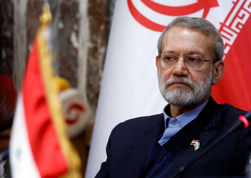 Iran ready to help Lebanon - Lebanese president's office citing Larijani