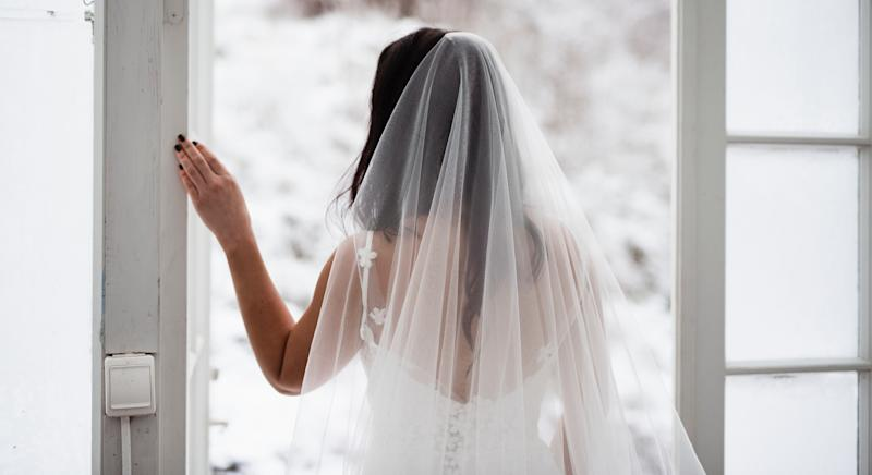 There are calls for the government to let people marry via Zoom (Getty Images)