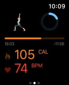 best fitness apps apple watch pocket yoga2