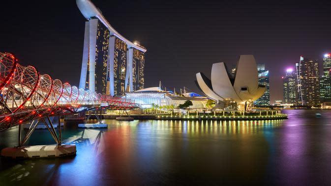 Wisata Singapura. (Foto: Timo Volz/ pexels)