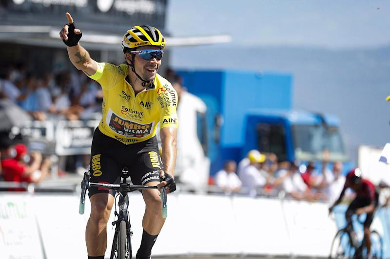 Roglic wins stage 3 of the Tour de l'Ain and the overall classifiction