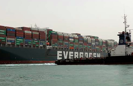 長榮貨運擱淺 撼動全球經貿