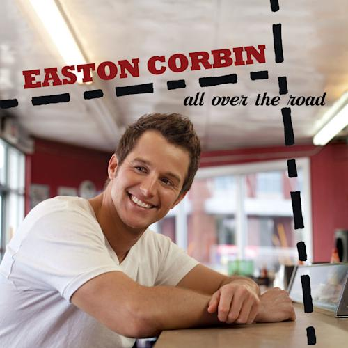"This CD cover image released by Mercury Records shows the latest release by Easton Corbin, ""All Over the Road."" (AP Photo/Mercury Records)"