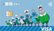 快新聞/郵局VISA金融卡結合悠遊卡 明天首發行