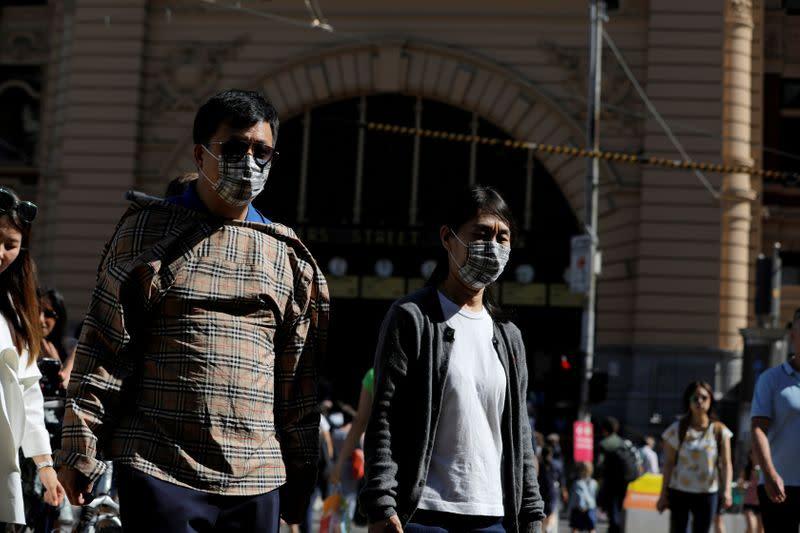 Australian coronavirus cases spike, cruise with sick passengers denied entry