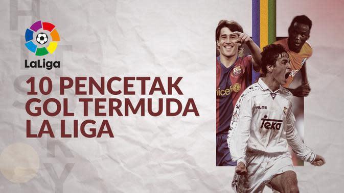 MOTION GRAFIS: Pemain Barcelona Masuk dalam Daftar 10 Pencetak Gol Termuda di La Liga